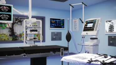 Pediatric Laparoscopic ER Room Camera 2