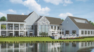Birchwood at Brambleton Rear Clubhouse Renderings