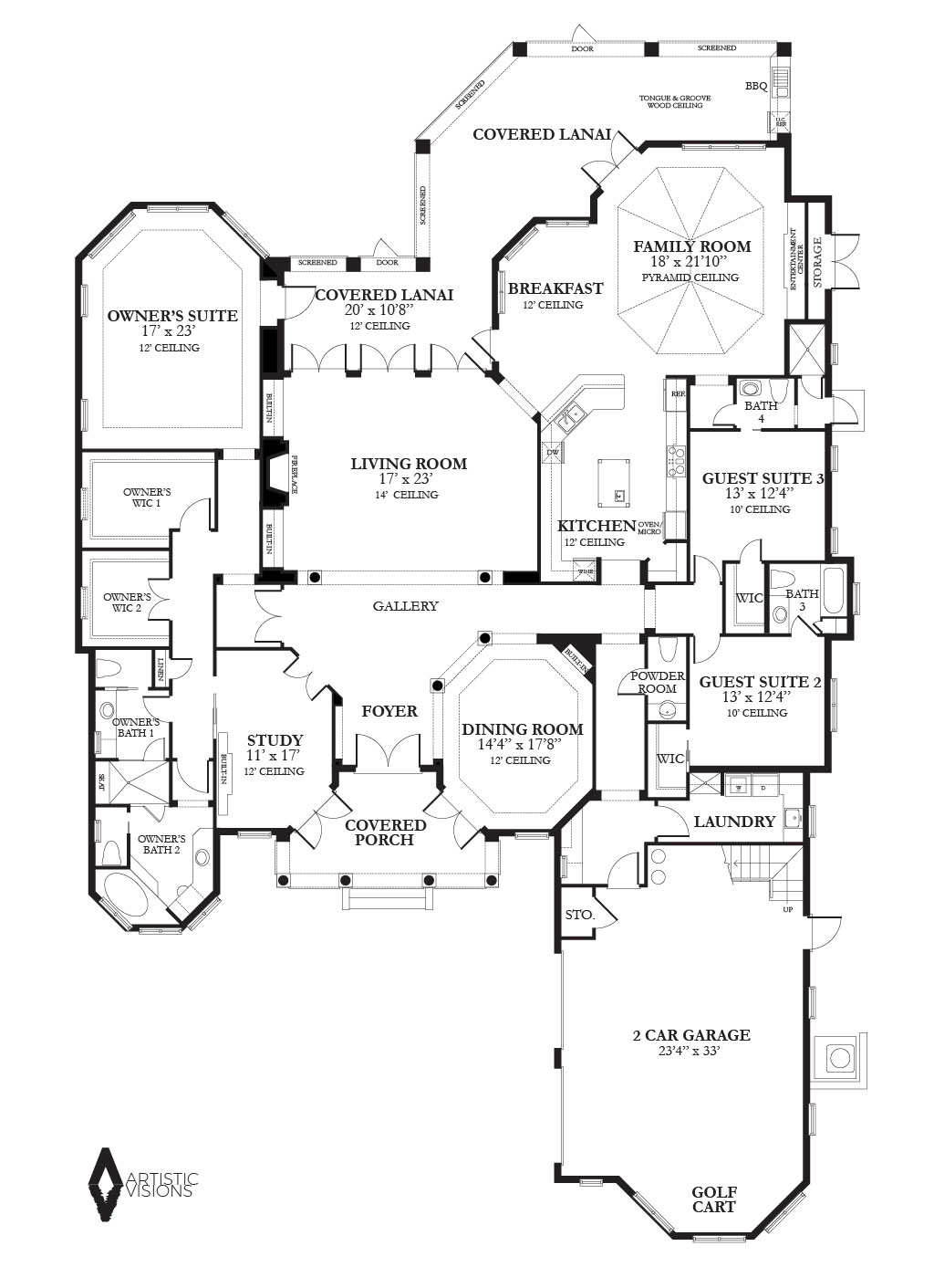 Floor Plans Artistic Visions